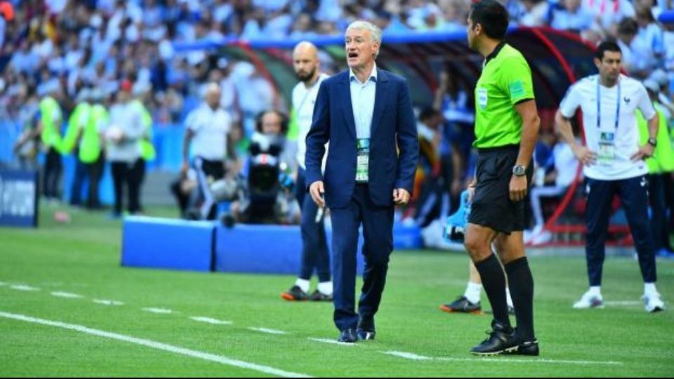 Deschamps: 'Arjantin'i zor durumlara soktuk.'
