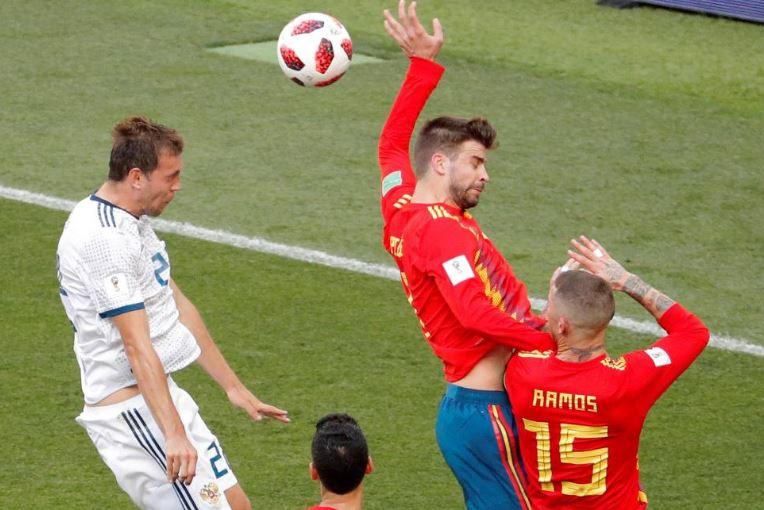 Uzatmalarda İspanya bastırdı, Rusya direndi