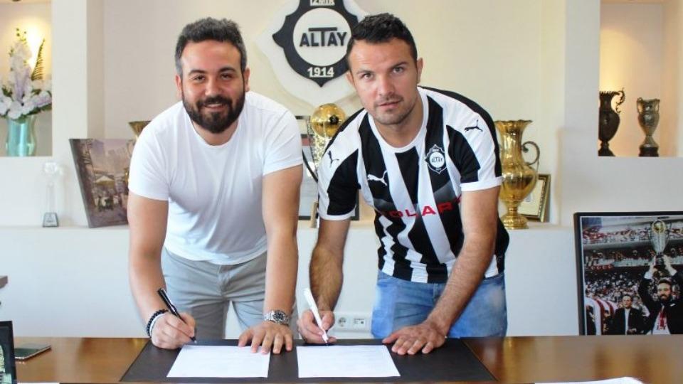Altay, Adnan Aganovic'i transfer etti