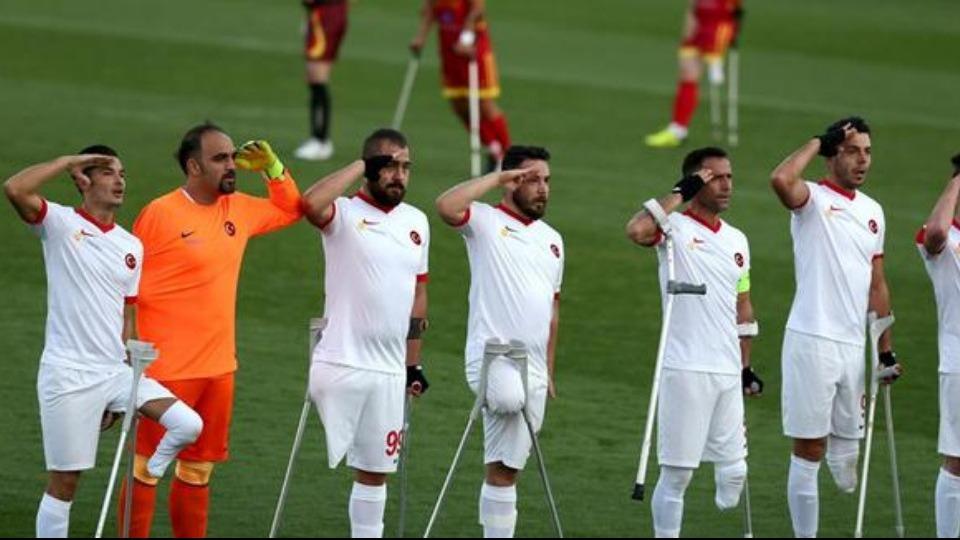 Genç milli ampute futbolcular İtalya yolcusu...