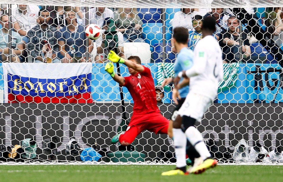 Fransa, Uruguay'ı rahat geçti!