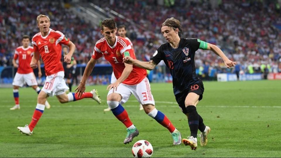 Luka Modric bu alanda Dünya Kupası'nda en iyisi
