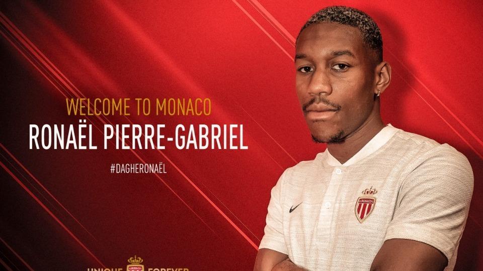 Monaco, Ronael Pierre-Gabriel ile sözleşme imzaladı