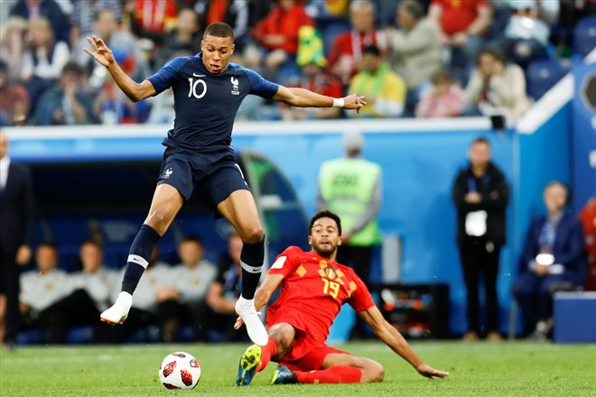 Fransa'da final sevinci