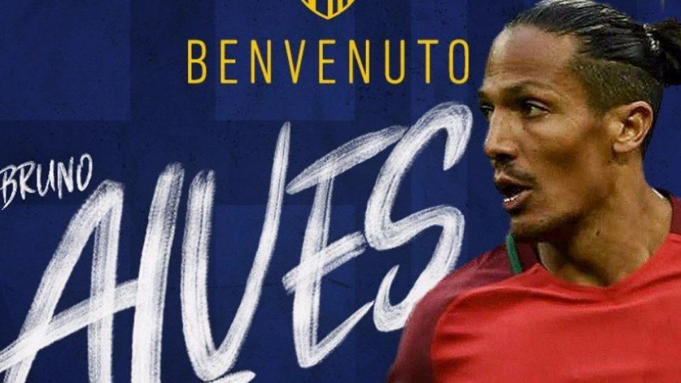 Bruno Alves transferi resmen açıklandı