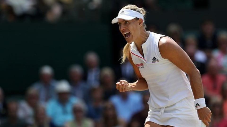 Kerber, Ostapenko'yu yenerek finale yükseldi