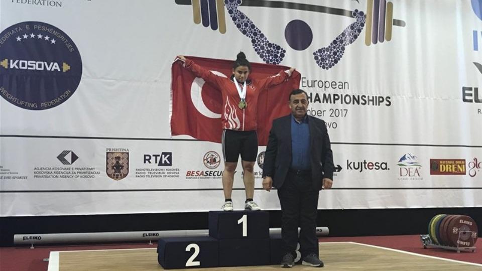 Dilara Narin bronz madalya kazandı