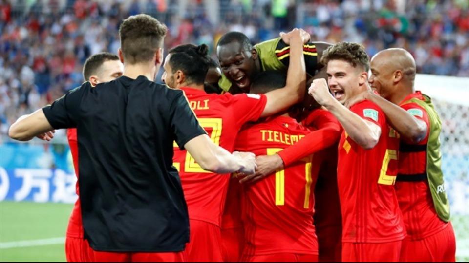 Dünya Kupası'nı 3. bitiren Belçika'da büyük sevinç...