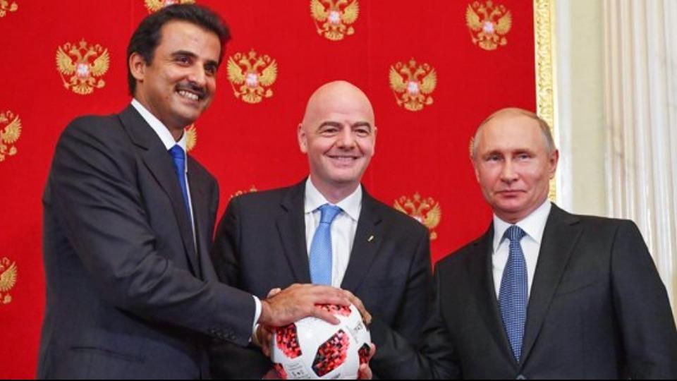 2022 Dünya Kupası için devir teslim töreni gerçekleştirildi!
