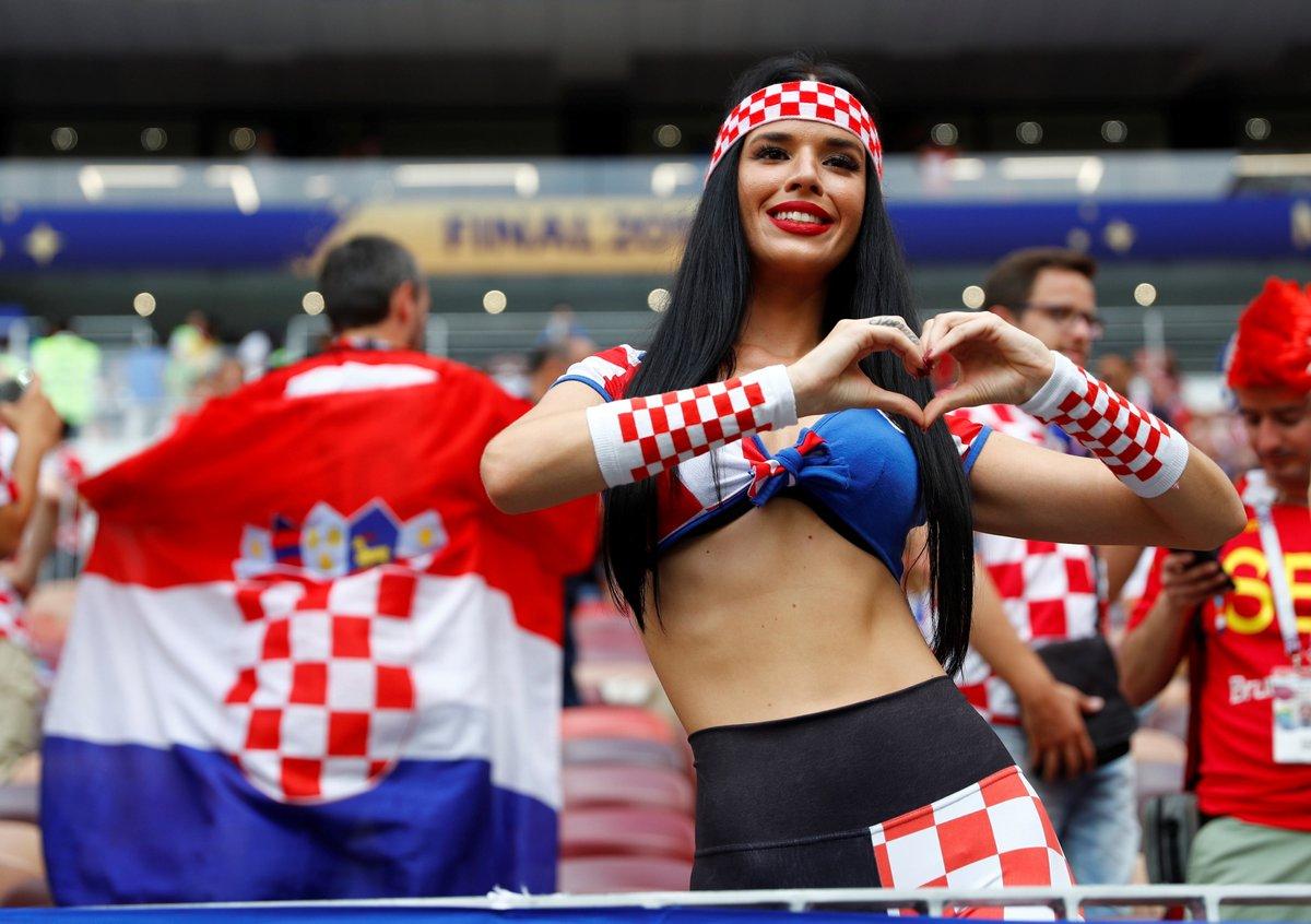Hırvat güzel finale damga vurdu!