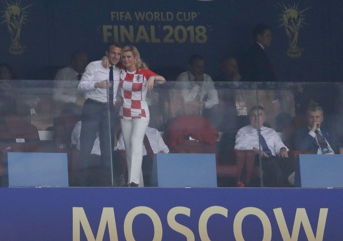 Dünya Kupası'nda finale damga vurdular!