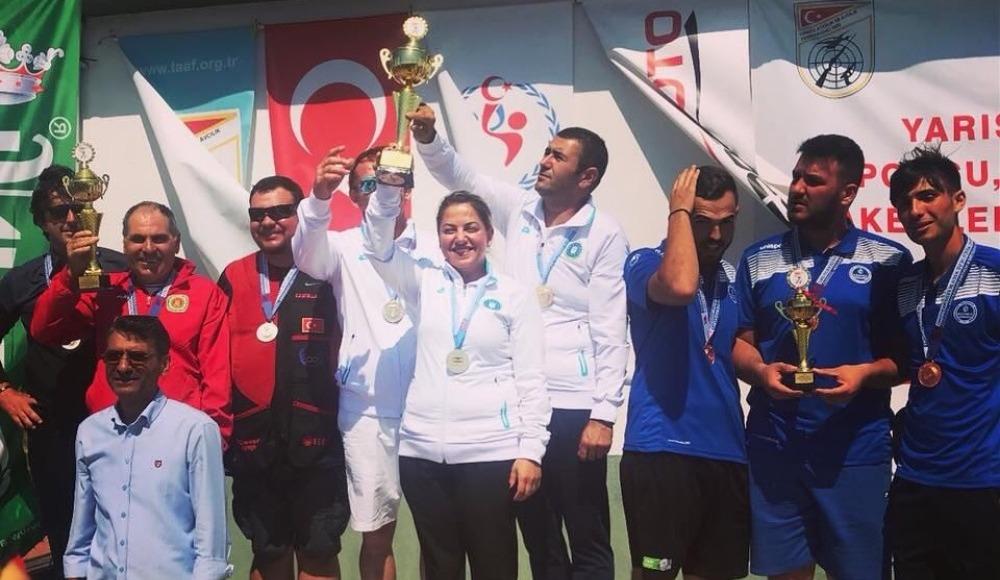 Büyükşehir, 'Trap'ta Türkiye şampiyonu