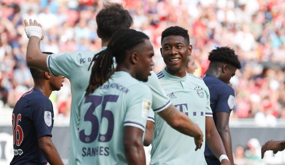 Uluslararası Şampiyonlar Kupası'nda Bayern Münih, PSG'yi mağlup etti