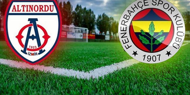 Altınordu Fenerbahçe maçı hangi kanalda?