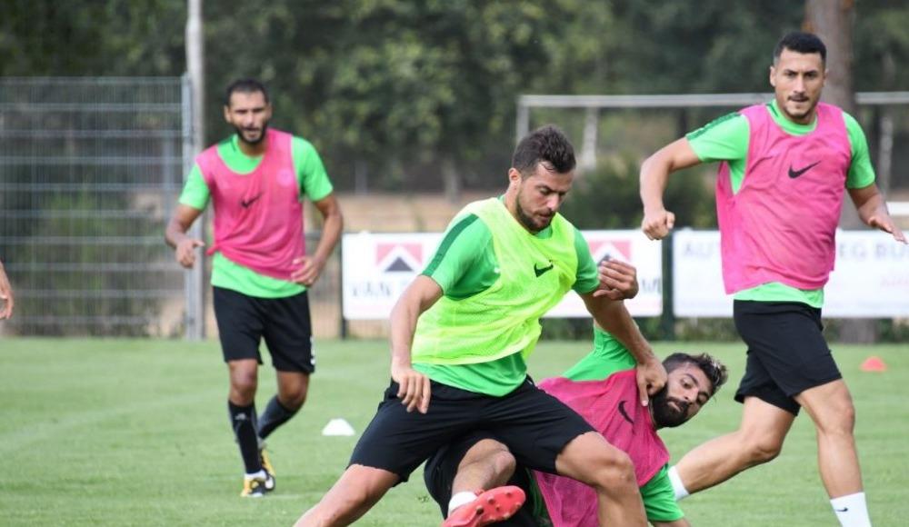 Atiker Konyaspor'da Bursaspor maçı hazırlıkları devam ediyor