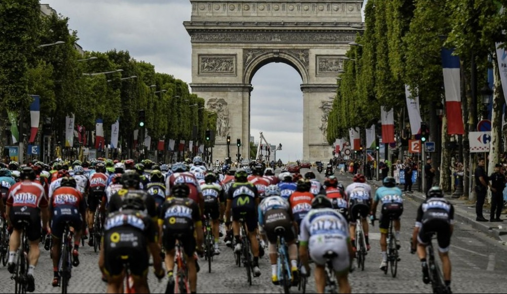 105. Fransa Bisiklet Turu'nun 17. etabı tamamlandı!