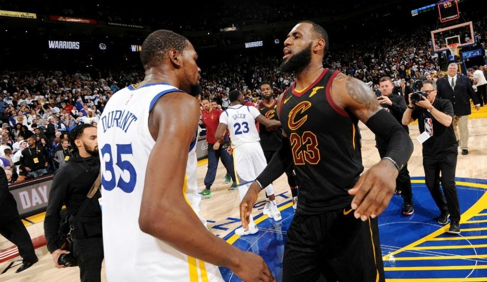 """Durant: """"LeBron'un Lakers hamlesi iyi oldu"""""""