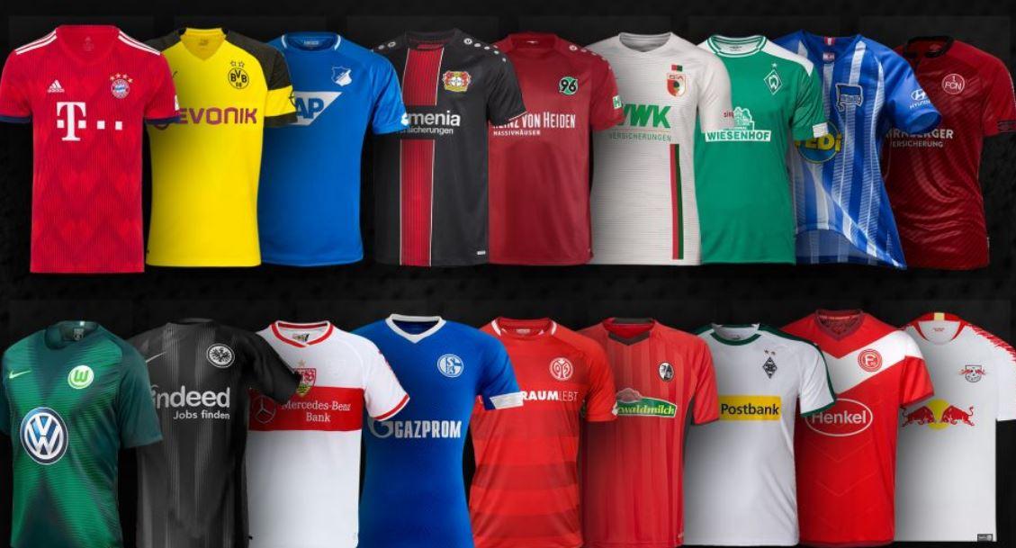 Almanya Ligi'nde yeni sezon formaları...