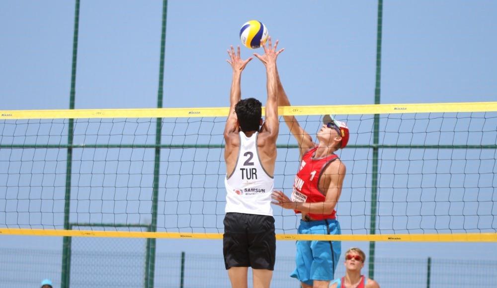 FIVB Plaj Voleybolu Dünya Turu'nda 1. etap tamamlandı