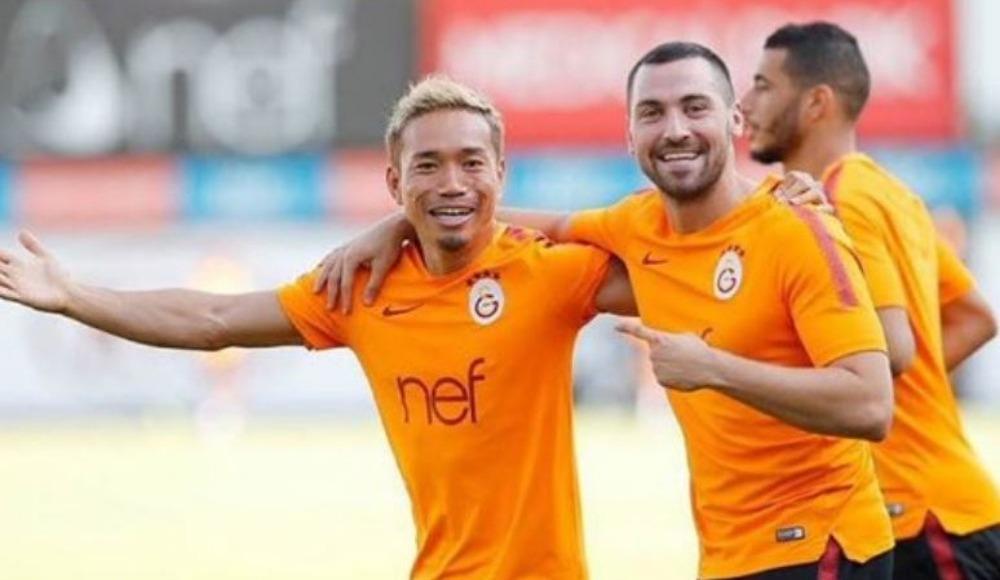 Galatasaray'da Nagatomo sevinci
