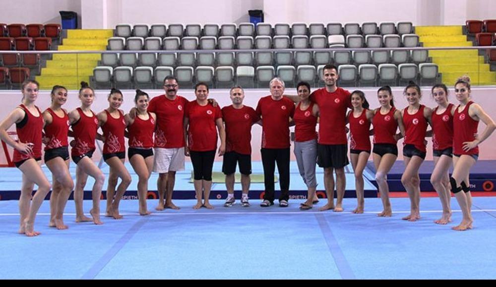 Artistik Cimnastik Kadın Milli Takımı büyük düşünüyor...