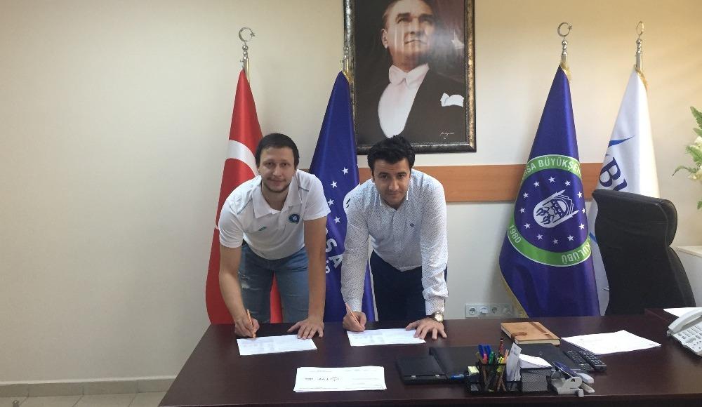 Bursa Büyükşehir Belediyespor'a iki yeni transfer!