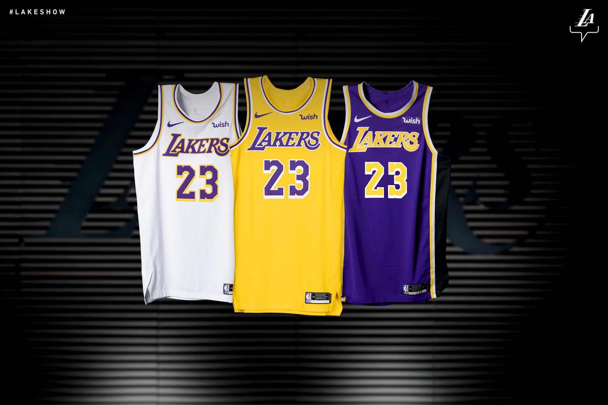 Los Angeles Lakers'ın yeni sezon formaları belli oldu