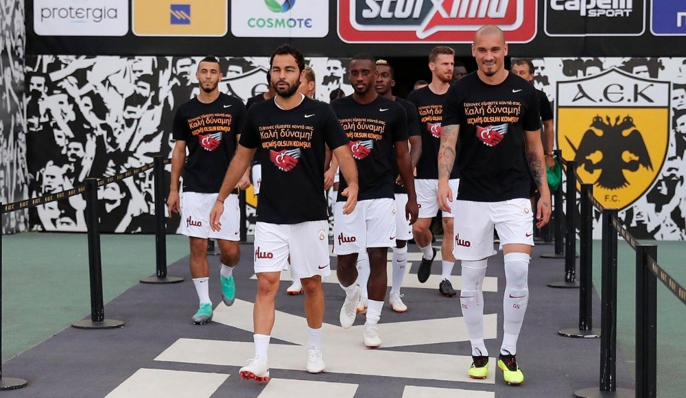AEK'dan Galatasaray'a teşekkür