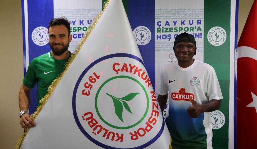 Çaykur Rizespor, Musa Çağıran ve Aminu Umar ile resmi sözleşme imzaladı!