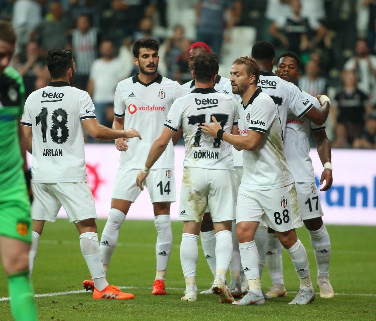 Beşiktaş, Avrupa kupalarındaki en farklı galibiyetini aldı