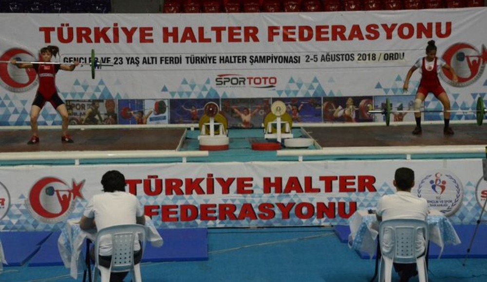 Gençler ve 23 Yaş Altı Ferdi Türkiye Halter Şampiyonası başladı
