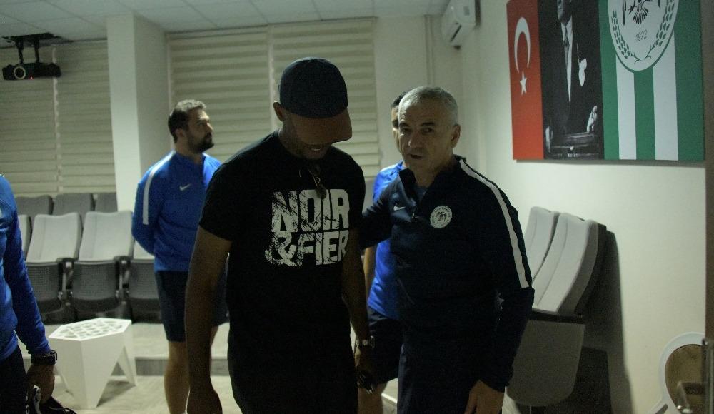 Eto'o Konyaspor'a veda etti! İşte o sözler...