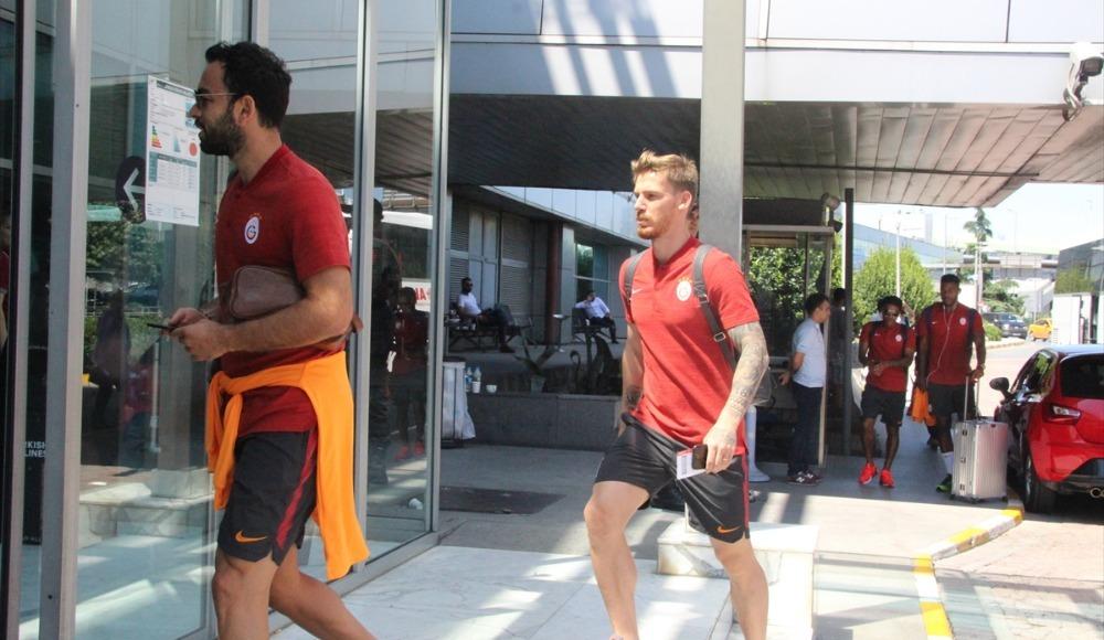 Galatasaray, Süper Kupa için Konya'ya gitti
