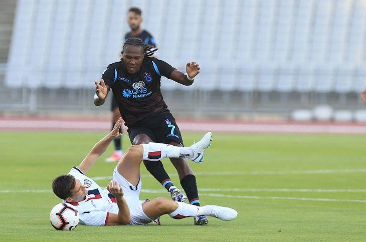 Trabzonspor ile Cagliari yenişemedi