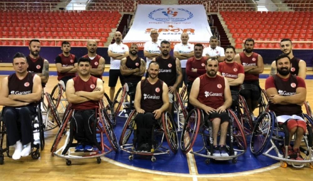 Tekerlekli Sandalye Dünya Basketbol Şampiyonası başlıyor! Yarın Almanya'ya hareket...