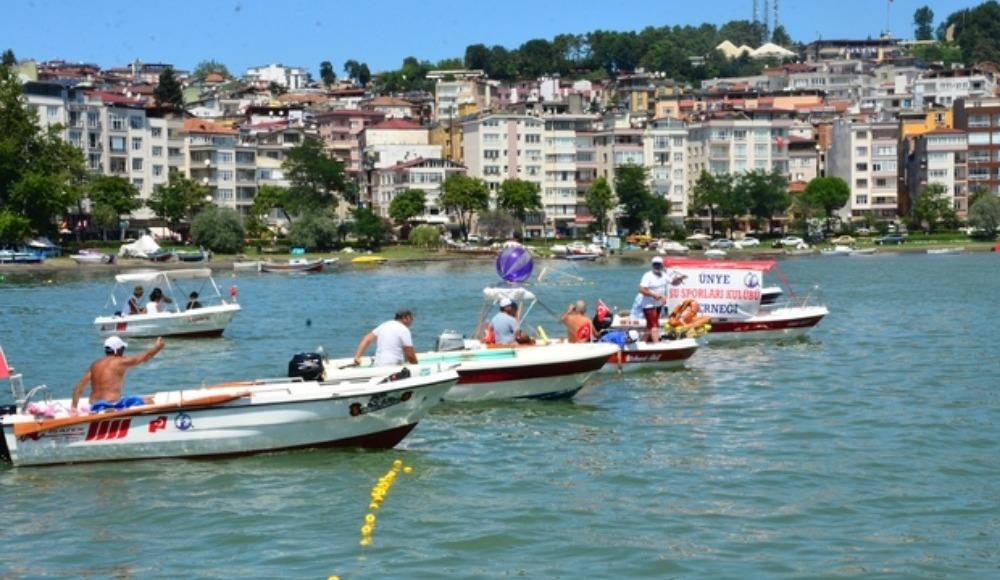 1. Su Sporları Festivali Ordu'da gerçekleşti