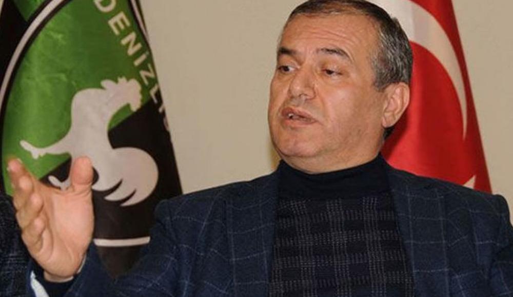 """Denizlispor'un kulüp başkanı Mustafa Üstek: """"Gereken mesaj alınmıştır''"""