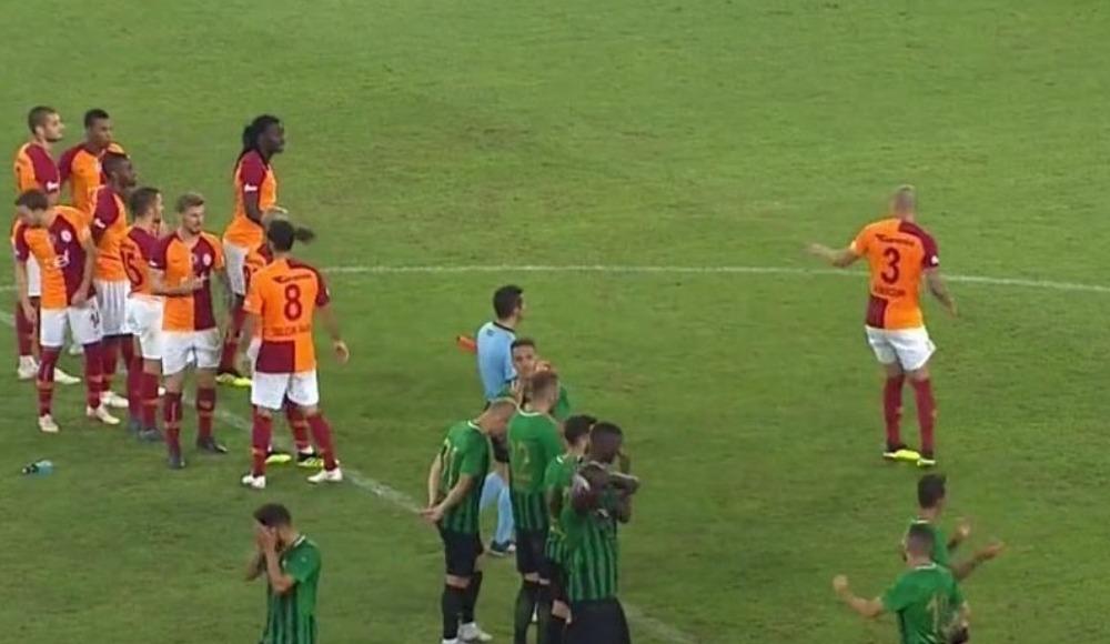 Gomis'in kaçırdığı penaltıdan önce ilginç bir olay yaşandı!