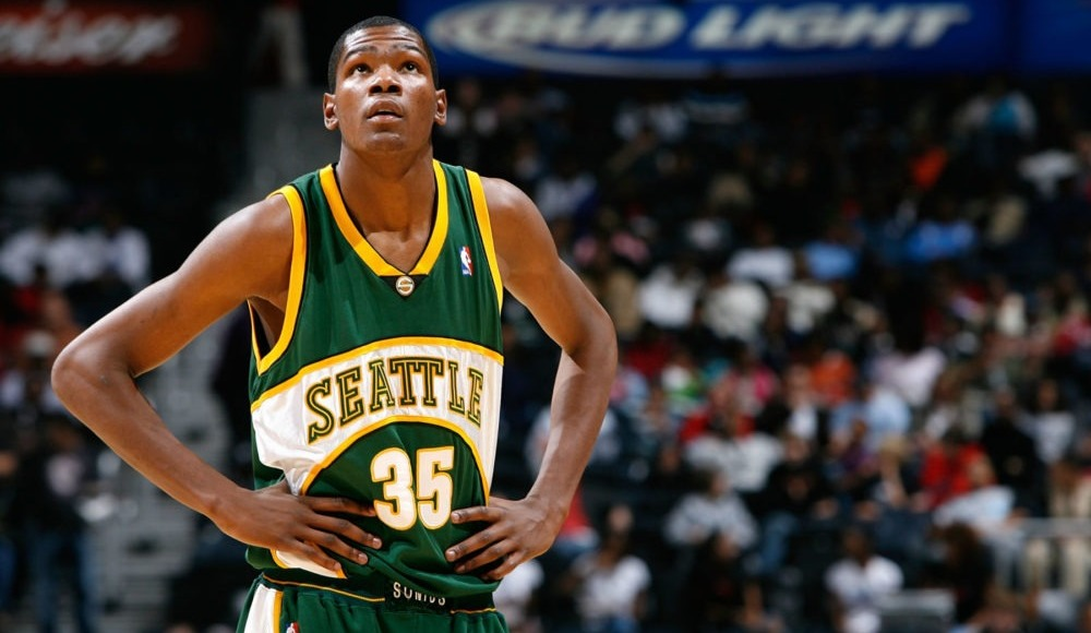 Kevin Durant Seattle'a geri dönüyor