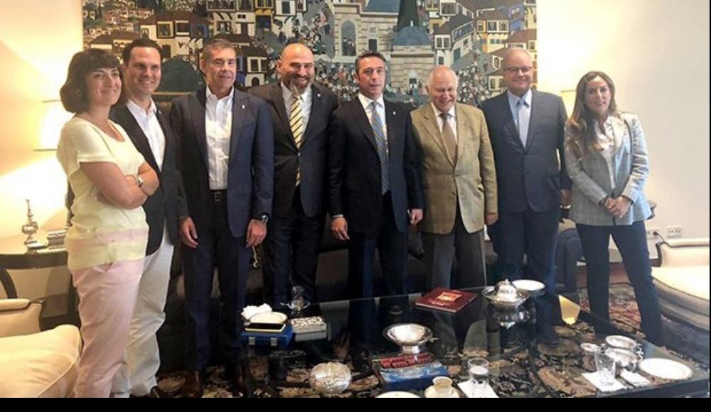 Ali Koç'tan Lizbon Büyükelçisi'ne ziyaret!
