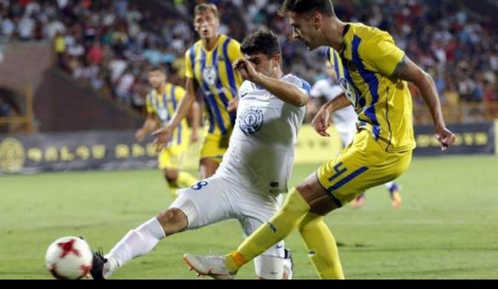 Pyunik ile Maccabi Tel Aviv 0-0 berabere kaldı!