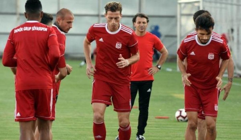 Demir Grup Sivasspor'da Alanyaspor maçı hazırlıkları sürdürdü!