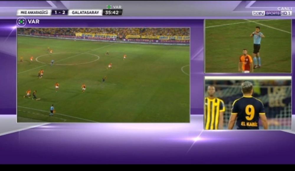 VAR uyarısıyla El Kabir'in golü iptal edildi