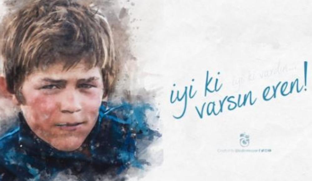 Trabzonspor'dan şehit Eren Bülbül mesajı