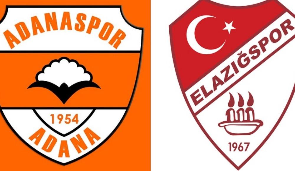 Adanaspor ligin ilk haftası Elazığspor'u konuk ediyor!