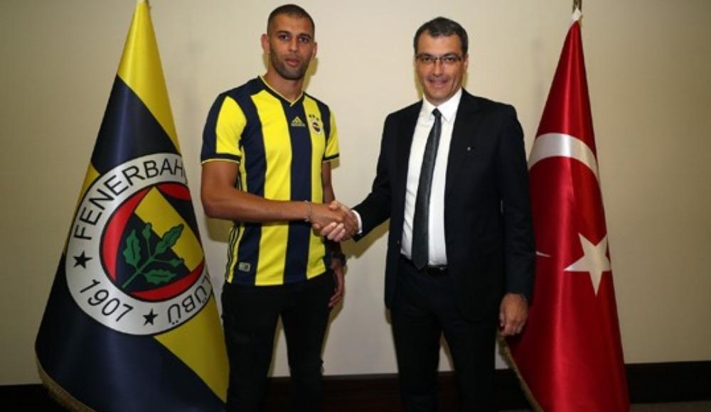 FLAŞ! Islam Slimani resmen Fenerbahçe'de!