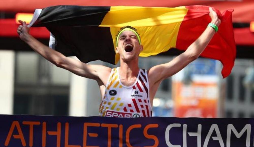 Erkekler maratonda zafer Koen Naert'in!