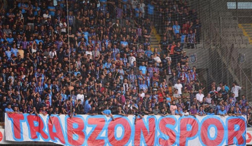 Trabzonspor'a İstanbul'da taraftarlarından tam destek