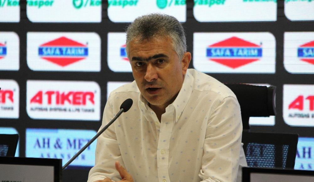 "Mehmet Altıparmak: ""Galibiyet serisine ihtiyacımız var"""