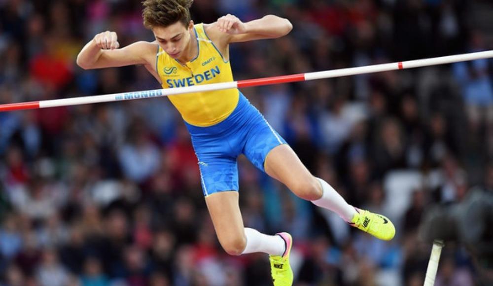 Avrupa Atletizm Şampiyonası'nda İsveçli Armand Duplantis altın madalya aldı
